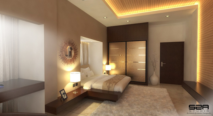 Residential Modern style bedroom by S2A studio Modern