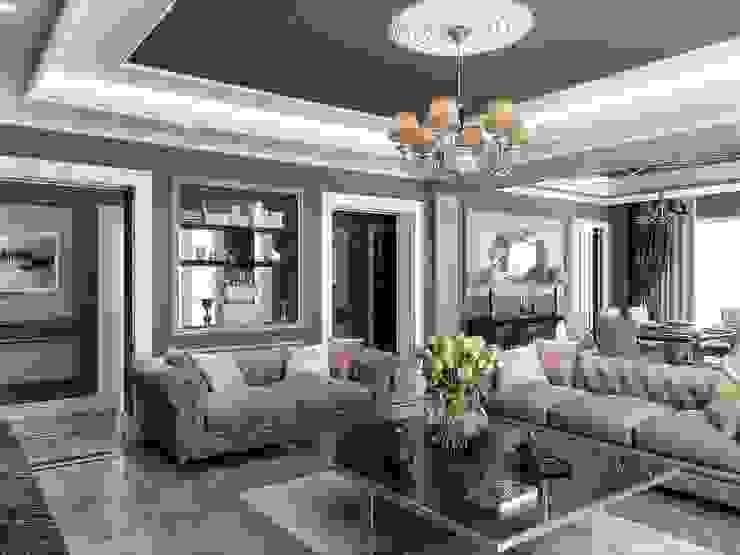 Villa Balıkesir Modern Living Room by VERO CONCEPT MİMARLIK Modern
