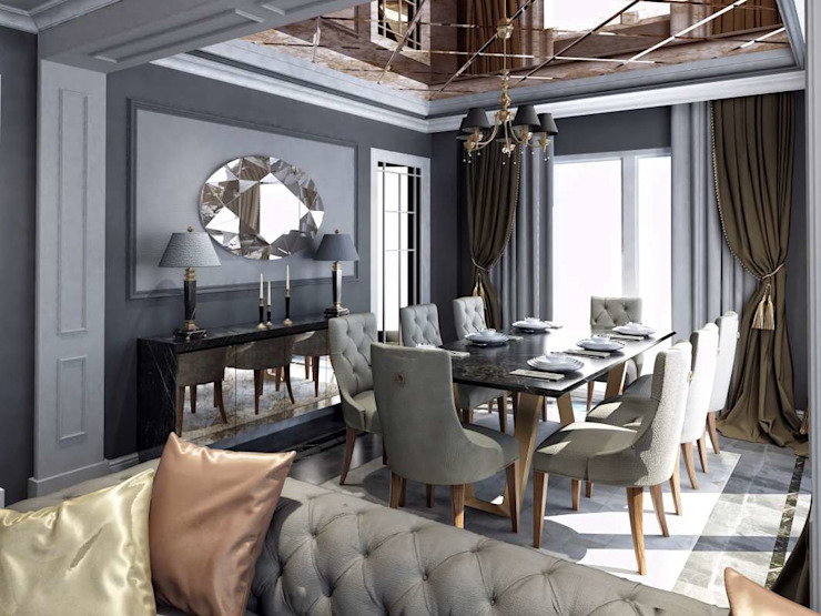 Villa Balıkesir Modern Dining Room by VERO CONCEPT MİMARLIK Modern