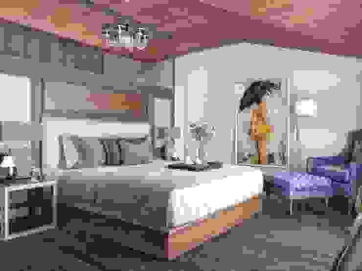 Villa Balıkesir Modern Yatak Odası VERO CONCEPT MİMARLIK Modern