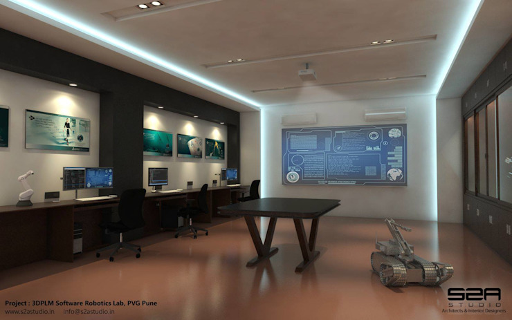 3DPLM Software Robotics Lab S2A studio Modern schools