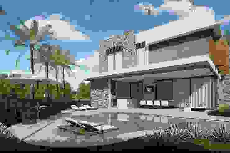 Quitete&Faria Arquitetura e Decoração Modern pool