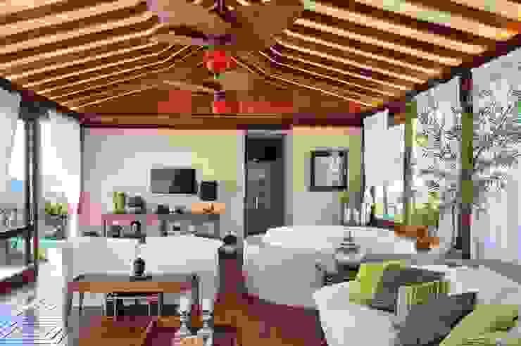 tropical  by Quitete&Faria Arquitetura e Decoração, Tropical