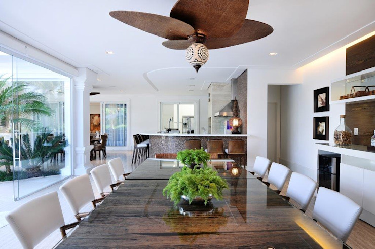 Quitete&Faria Arquitetura e Decoração Dining roomAccessories & decoration