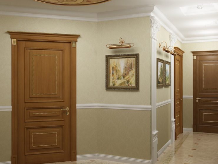 Corridor and hallway by homify,