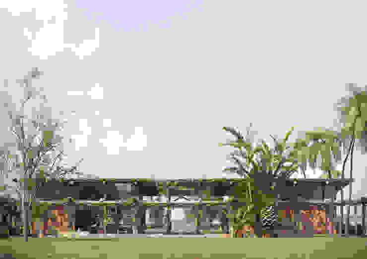 VeMa_Weekend-House Casas rústicas por studiojordanovalota Rústico Madeira Efeito de madeira