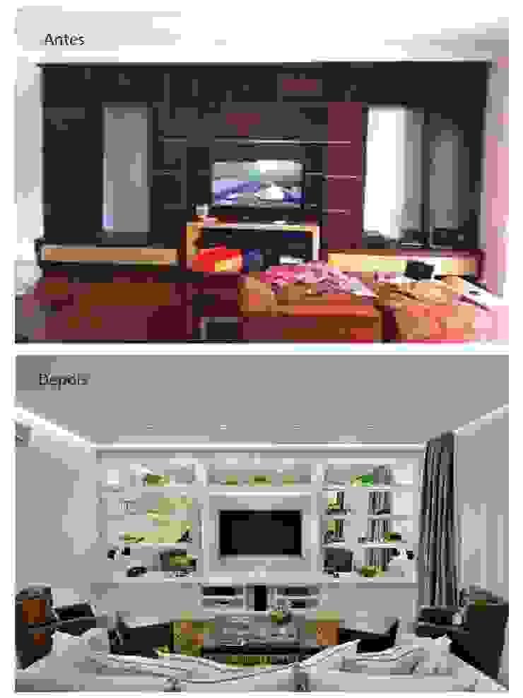 Home Teather por Quitete&Faria Arquitetura e Decoração