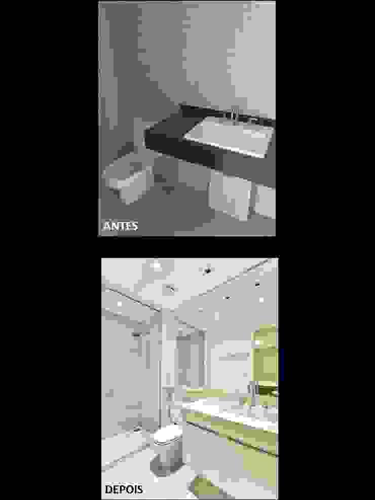 Banheiro por Quitete&Faria Arquitetura e Decoração