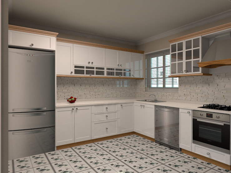 Country style kitchen by Monarch Mutfak Country