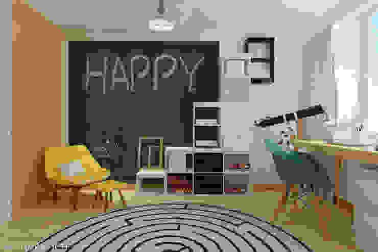 غرفة الاطفال تنفيذ Sakharevich_interiors,