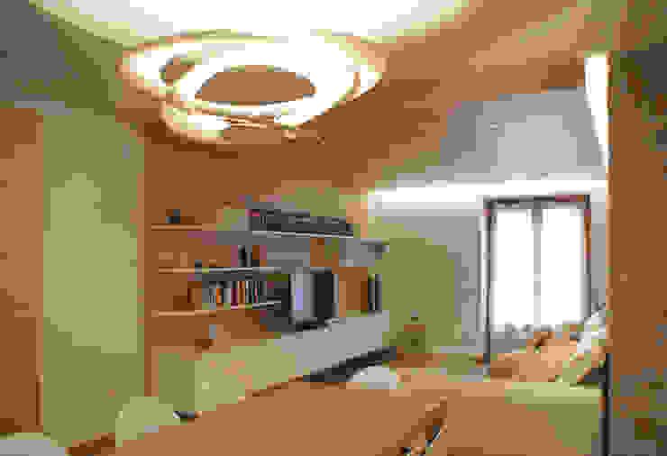现代客厅設計點子、靈感 & 圖片 根據 GRITTI ROLLO | Stefano Gritti e Sofia Rollo 現代風