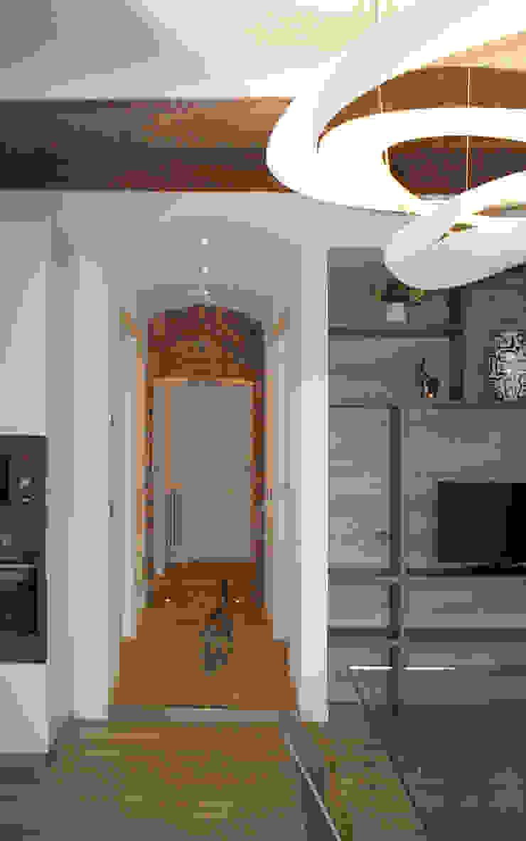 Modern Corridor, Hallway and Staircase by GRITTI ROLLO | Stefano Gritti e Sofia Rollo Modern