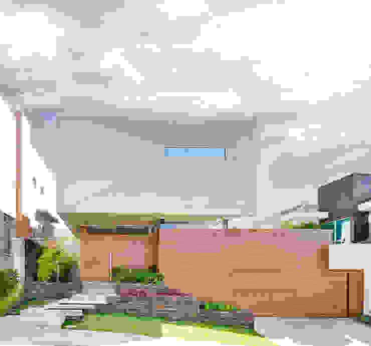 Casas modernas: Ideas, imágenes y decoración de Arqbox Moderno Bambú Verde