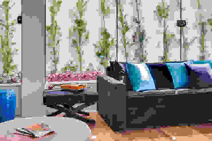 Livings modernos: Ideas, imágenes y decoración de Arqbox Moderno Madera Acabado en madera