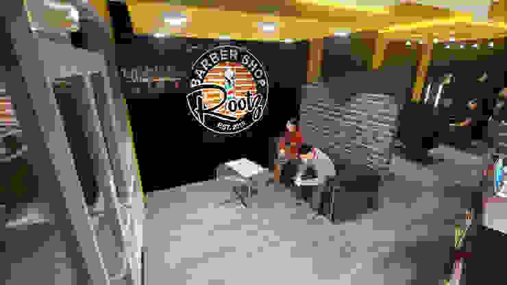 Sala de espera Espacios comerciales de estilo moderno de iA Soluciones de Ingeniería y Aquitectura Moderno