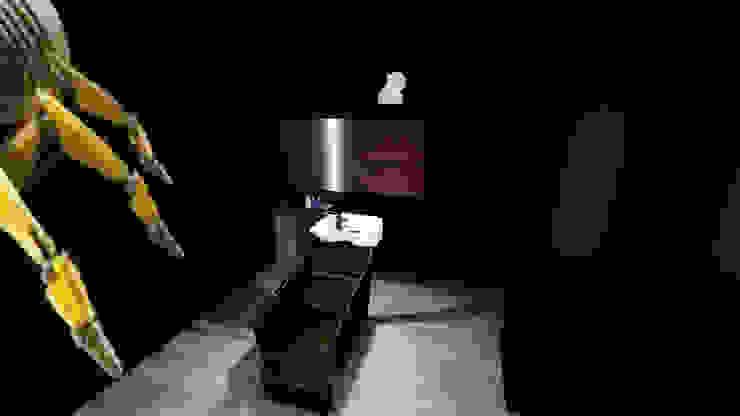 Diseño de espacio para Barberia Espacios comerciales de estilo moderno de iA Soluciones de Ingeniería y Aquitectura Moderno