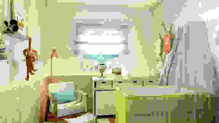 Bruna Rodrigues Designer de Interiores Dormitorios infantiles de estilo ecléctico