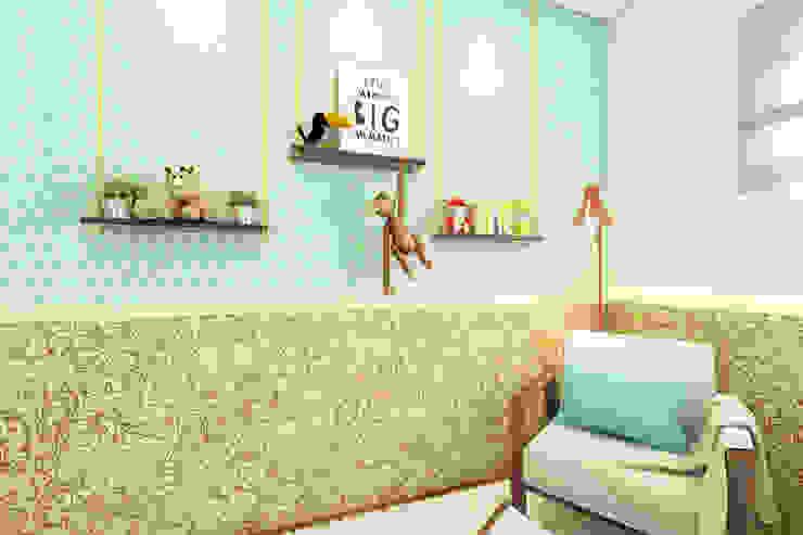 Bruna Rodrigues Designer de Interiores Eclectic style nursery/kids room