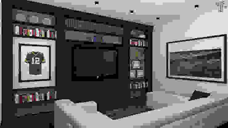 ML Modern Living Room by TAMEN arquitectura Modern