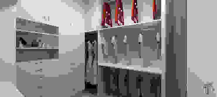 Vestidores de estilo moderno de TAMEN arquitectura Moderno