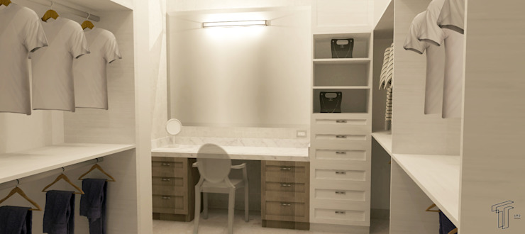 Dressing room by TAMEN arquitectura, Modern