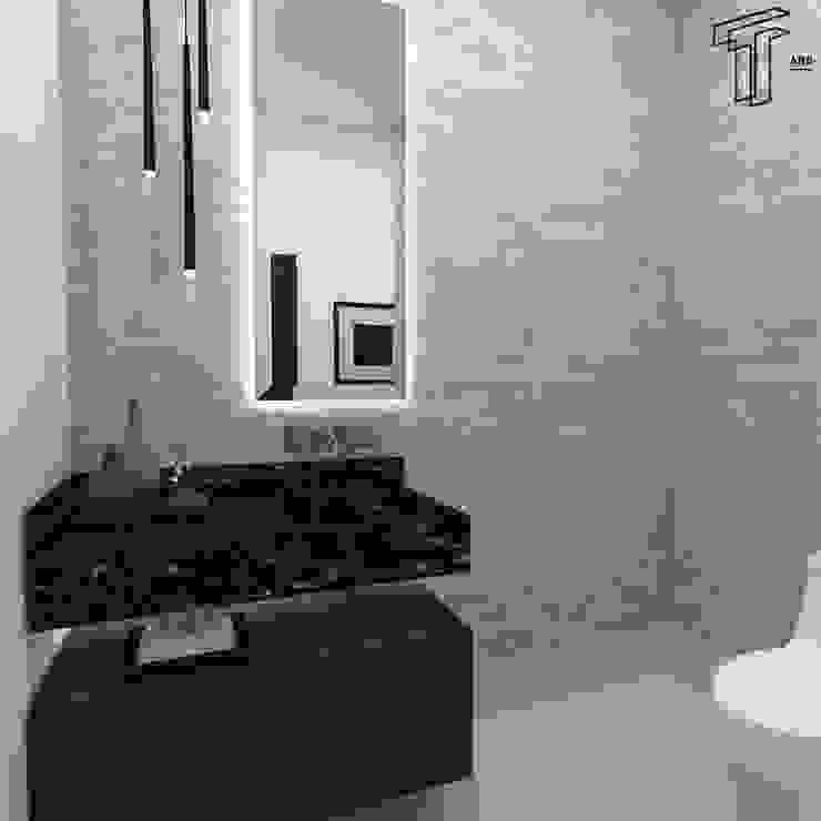 Modern bathroom by TAMEN arquitectura Modern