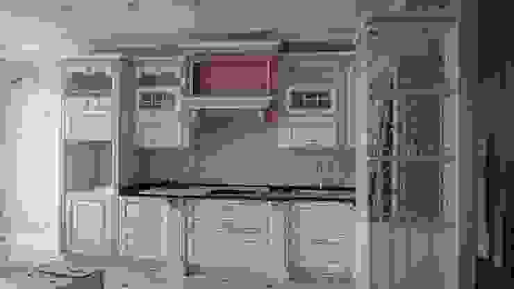 Cocinas de estilo clásico de Студия интерьерного дизайна happy.design Clásico