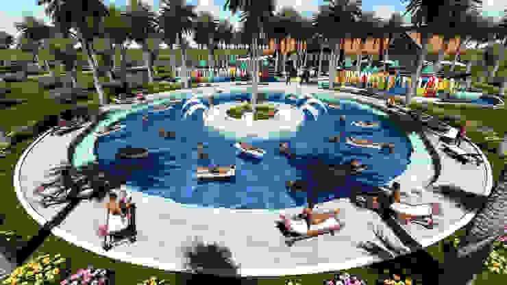 ARQUITECTO JUAN ANDRES GUTIERREZ PEREZ 泳池