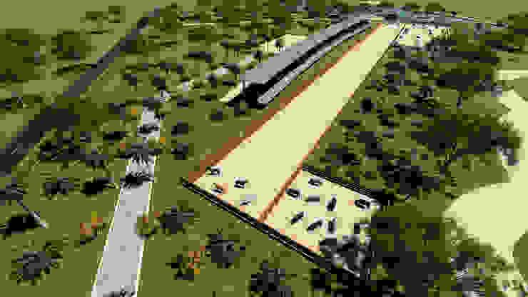 ARQUITECTO JUAN ANDRES GUTIERREZ PEREZ 庭院