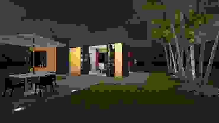 ARQUITECTO JUAN ANDRES GUTIERREZ PEREZ Modern Garden