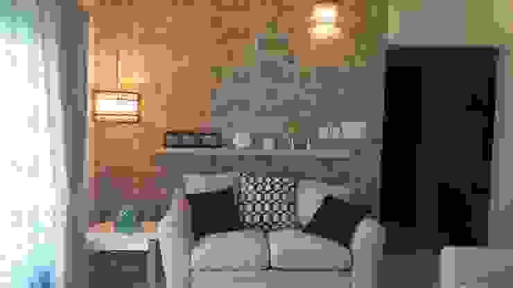 Living Room Modern Living Room by Nandita Manwani Modern