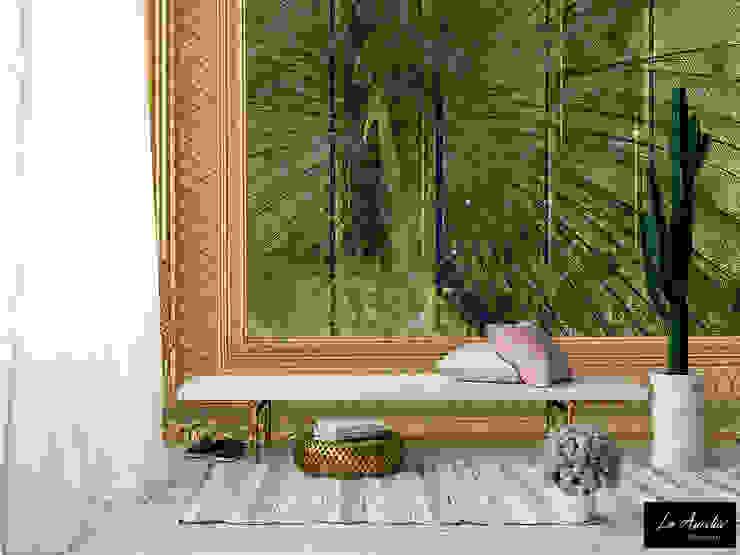 Elegance -Framed- Wallpaper: modern  door La Aurelia , Modern