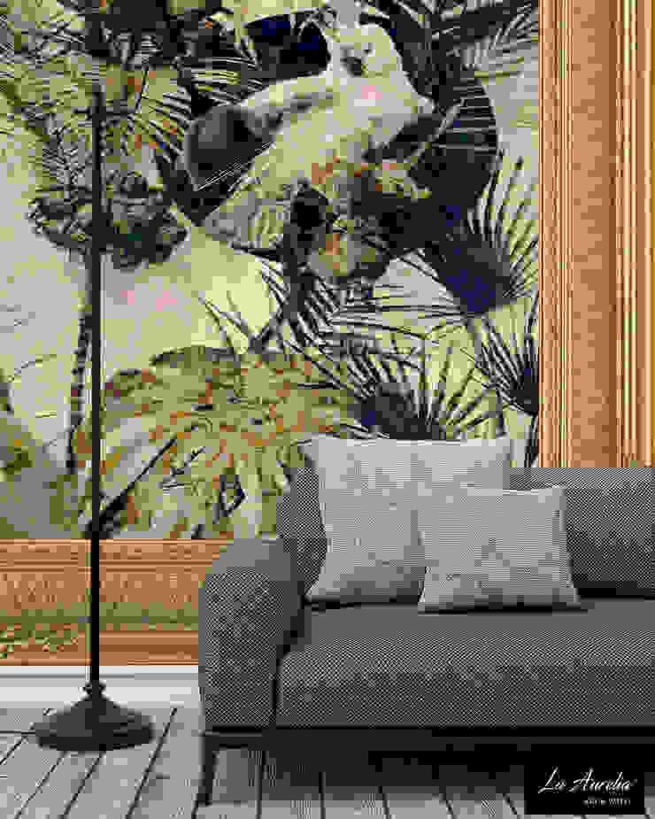 Exotic -Framed-  Wallpaper: modern  door La Aurelia , Modern