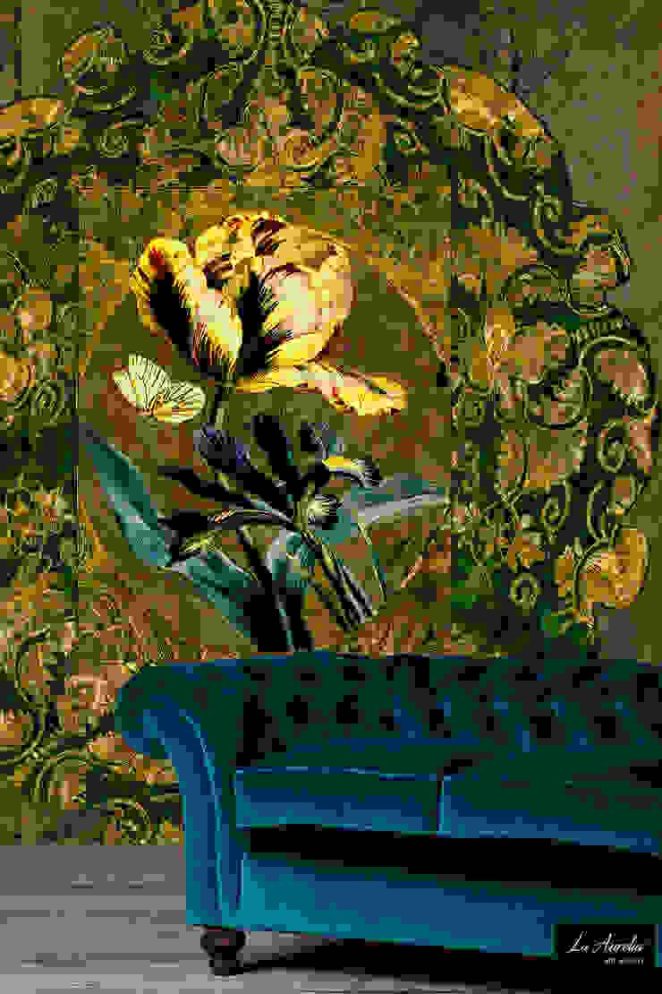 Jardin -Wallpaper van La Aurelia Koloniaal