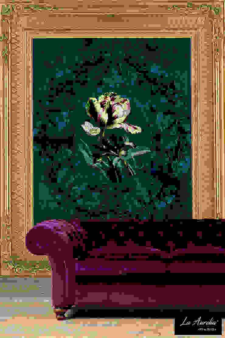 Jardin -Framed- Wallpaper van La Aurelia Koloniaal