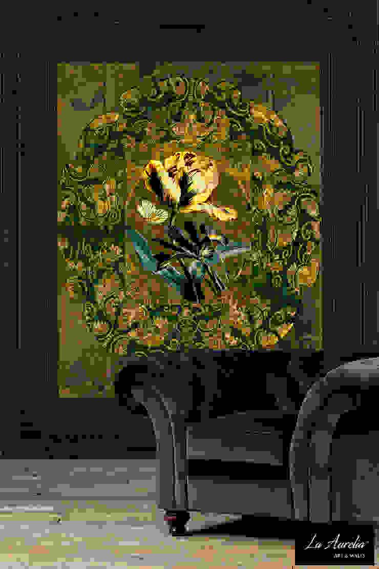 Jardin -Variation Framed- Wallpaper van La Aurelia Aziatisch