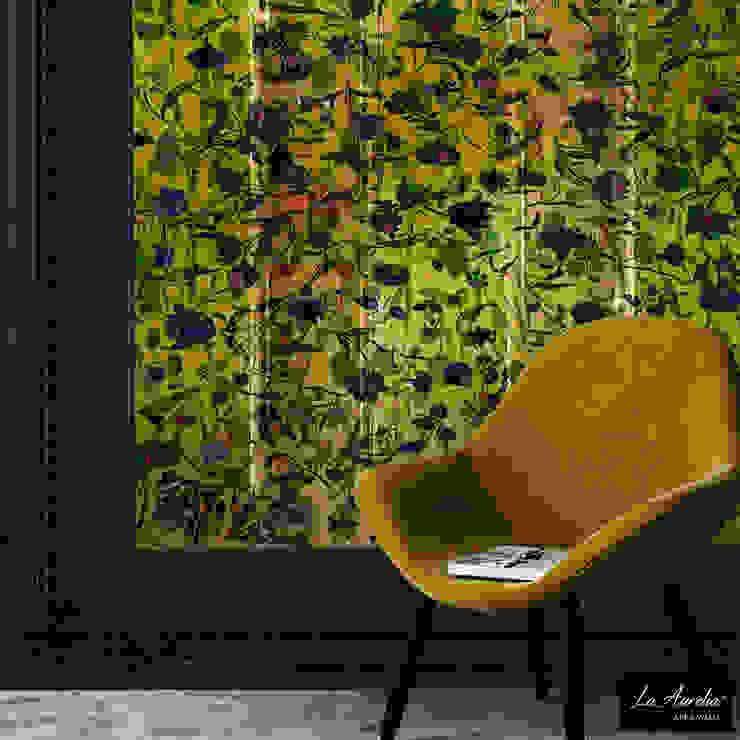 Summer Joy -Framed- Wallpaper van La Aurelia Rustiek & Brocante