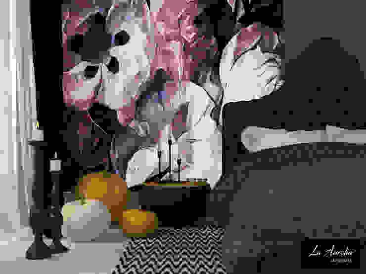 Fleur -Variation- Wallpaper por La Aurelia Moderno