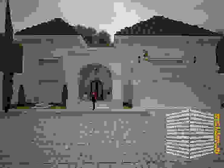 CASA A 4 AGUAS: Casas de estilo  por HHRG ARQUITECTOS