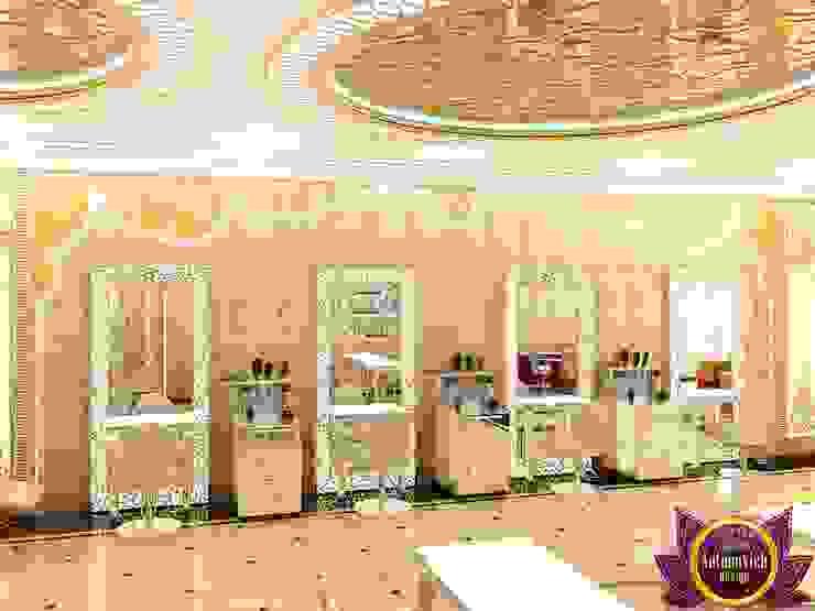 Beauty salon Design of Katrina Antonovich by Luxury Antonovich Design Eclectic