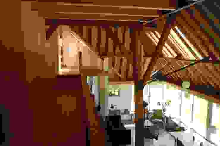 verbouw boerderij Architectenbureau Knegt SA Landelijke woonkamers