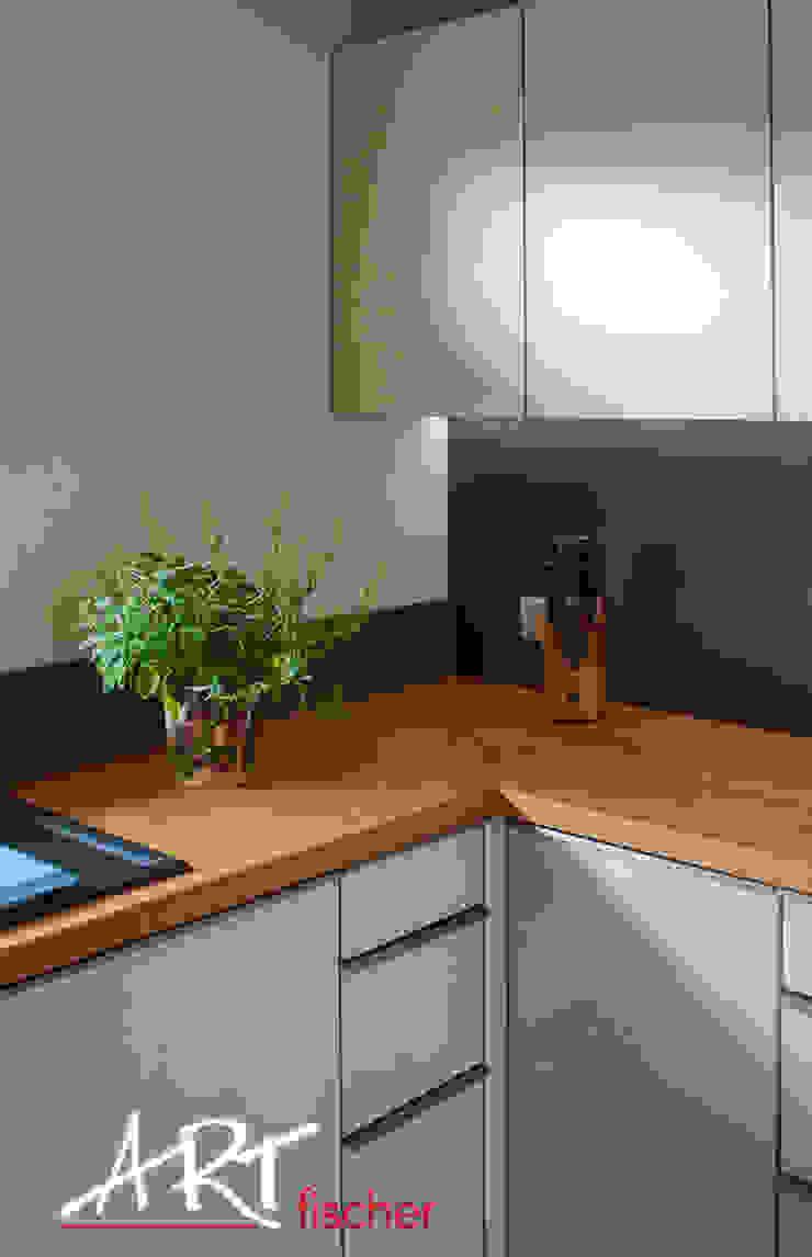 Dapur Modern Oleh ARTfischer Die Möbelmanufaktur. Modern Kayu Wood effect