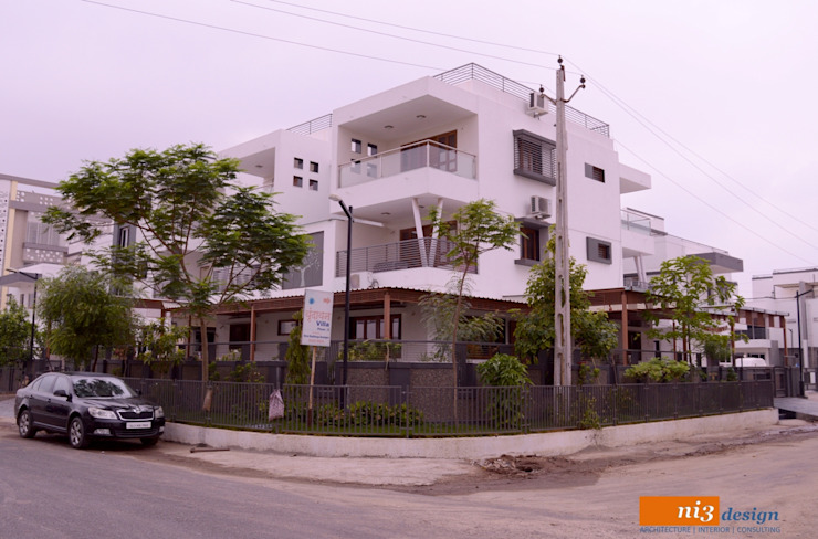 BUNGALOW ELEVATION Modern Houses by ni3design Modern