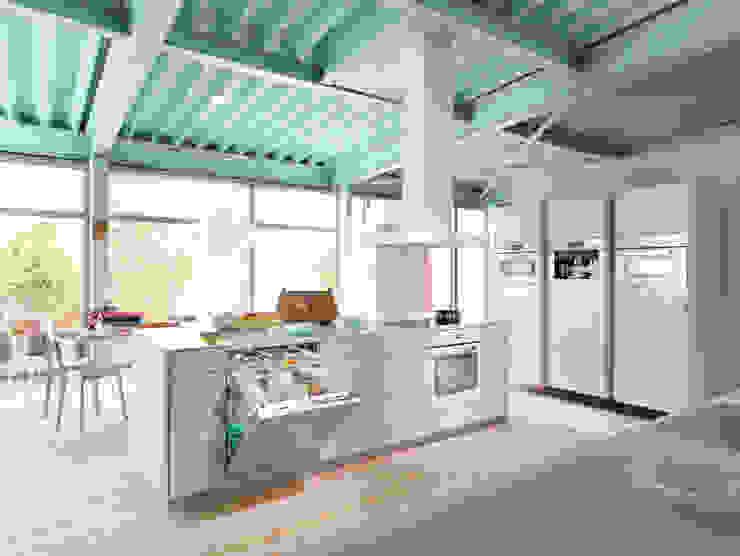 White Miele Appliances: modern  by Hehku, Modern