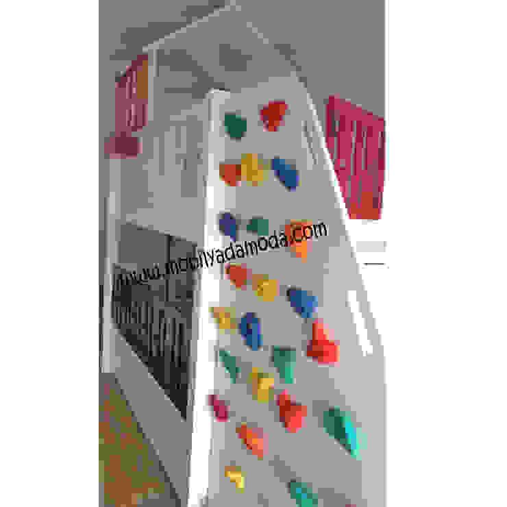 BULUTLU EV RANZA TIRMANMA DUVARLI Modern Çocuk Odası MOBİLYADA MODA Modern Ahşap Ahşap rengi