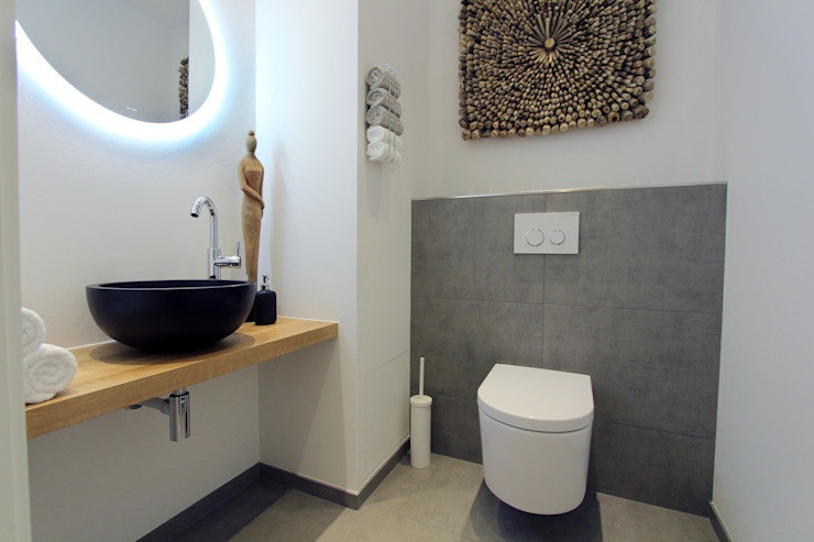 Modern style bathrooms by StageBella Modern Tiles