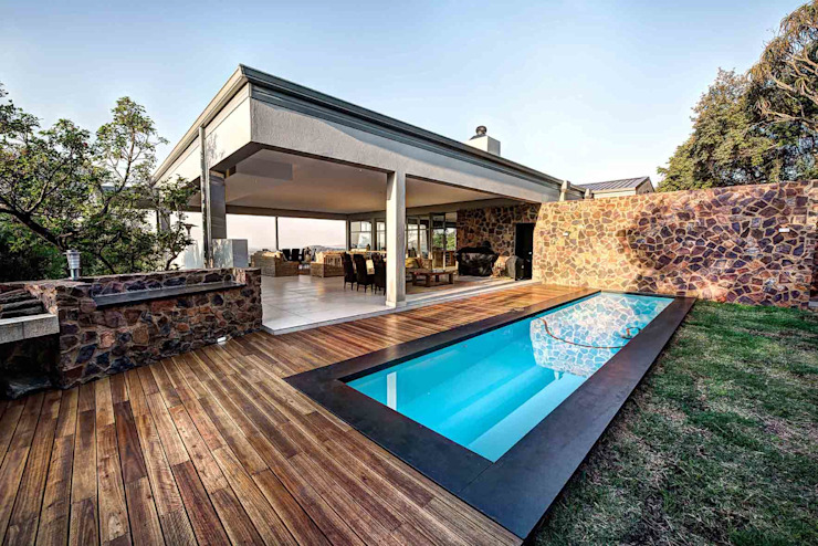 Maisons modernes par Swart & Associates Architects Moderne