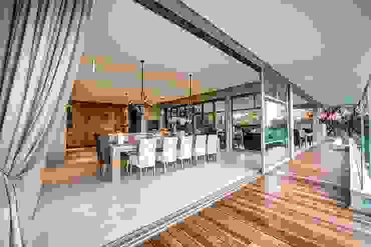 House Auriga Modern dining room by Swart & Associates Architects Modern