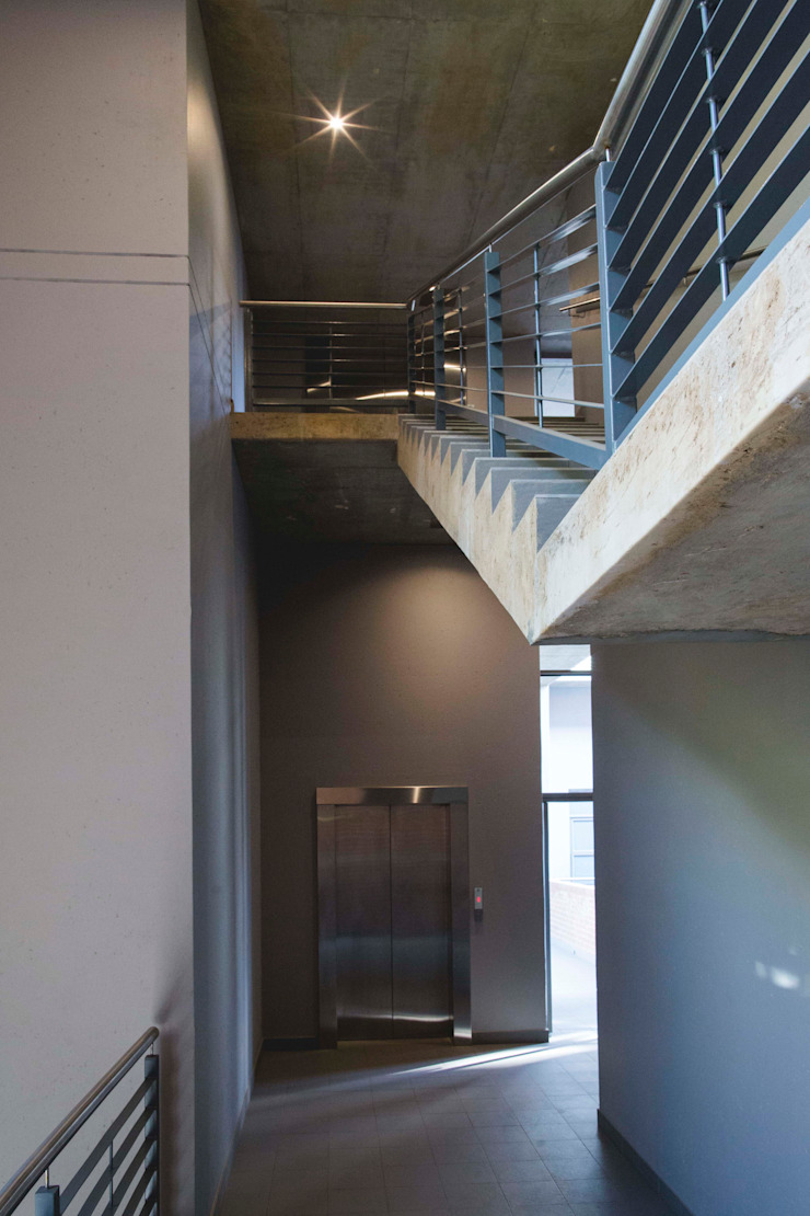 441@Kirkness Modern Corridor, Hallway and Staircase by Swart & Associates Architects Modern