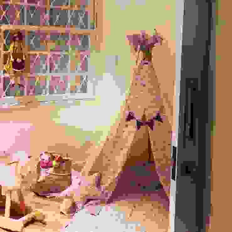 Casa Veloso Quartos de criança ecléticos por TR3NA Arquitetura Eclético